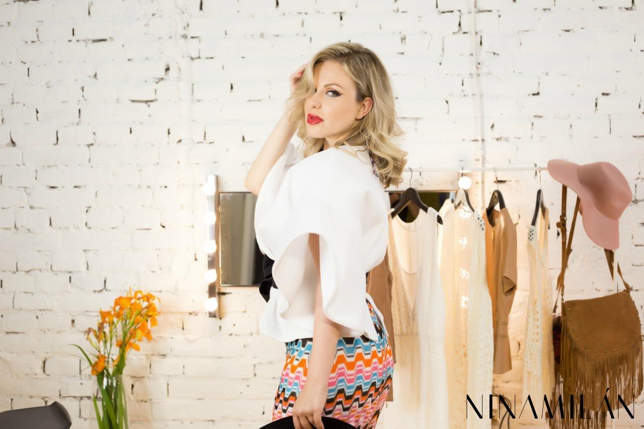 Nina Milan Miss hippie