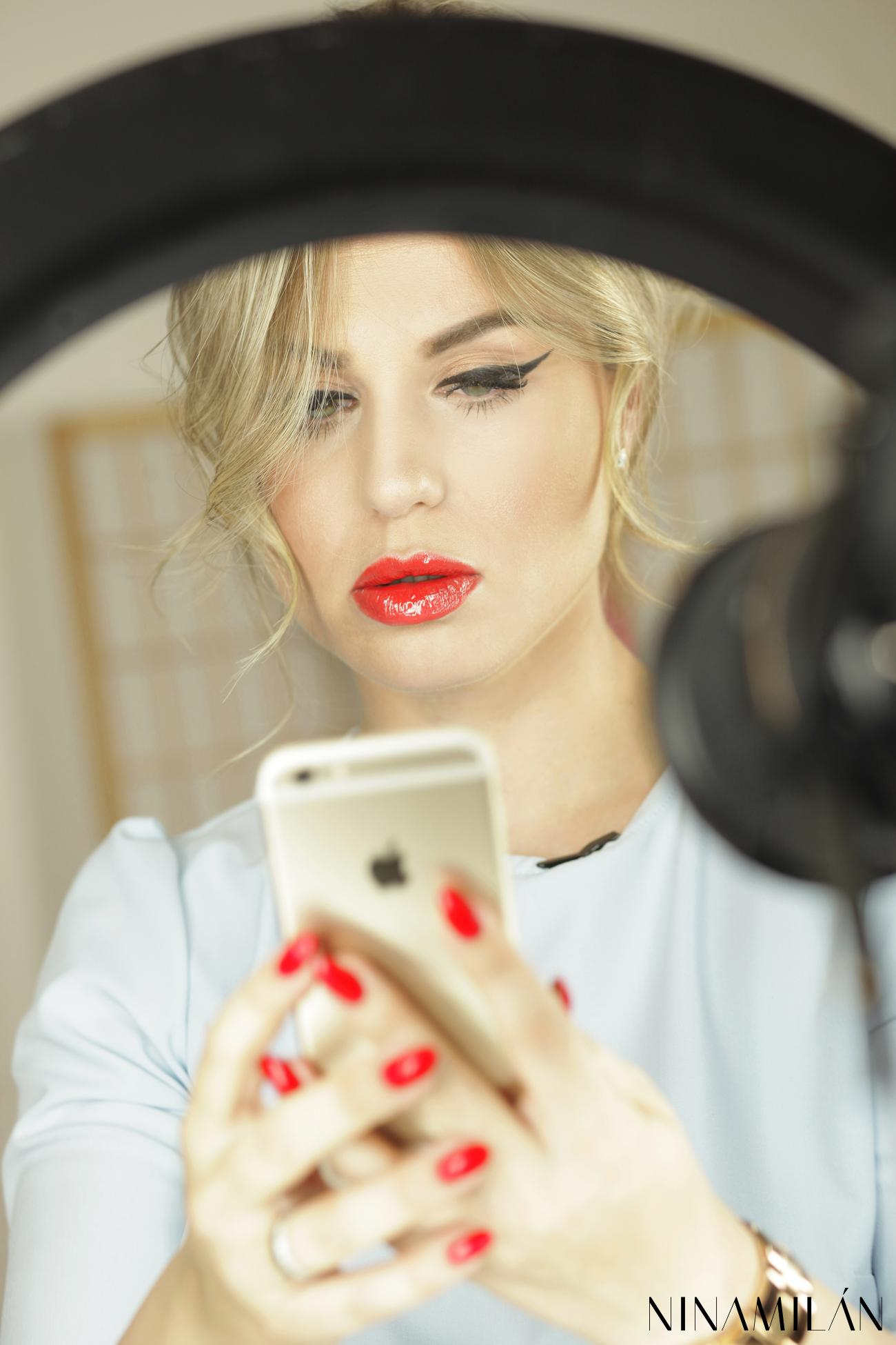Letnja šminka za dan Nina Milovic (3)