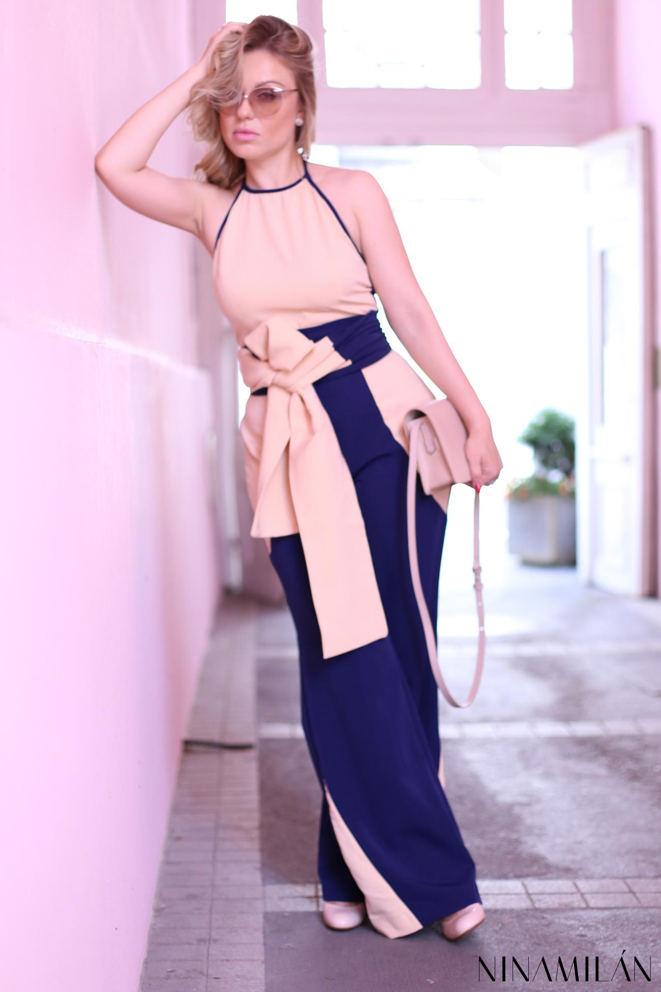 Nude Loves Blue Nina Milovic (2)