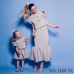 Mother Daughter Twinning: Mini Me kolekcija Lena Petra Girlswear