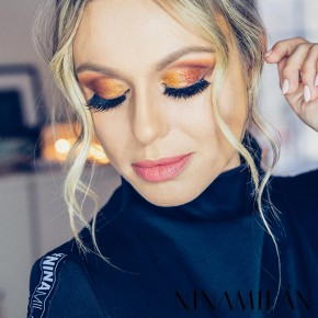 Dramatic New Year's Makeup Look (GIVEAWAY)